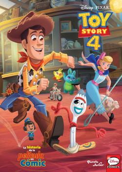 Toy Story 4. La historia de la película en cómic