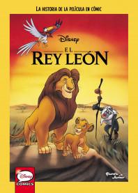 El Rey León. La historia de la película en cómic